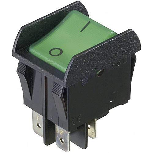 INTERBÄR - Interruptor basculante 3652-851.22 250 V/AC 16 A 2 x Off/On Permanente 1 ud.