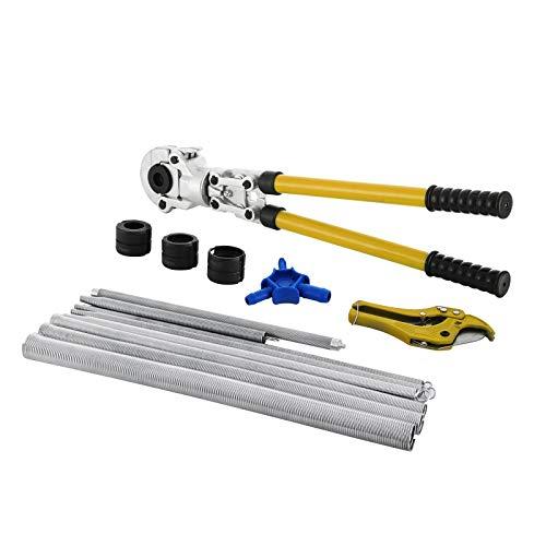 VEVOR Pinze a Pressare 16-32 mm per Tubi, Strumento di Pressatura con Calibratore a Molla di Torsione, per Contornare il Tubo Composito per Tubi, Compositi Tubi Compositi in Alluminio Pex-Al-Pex