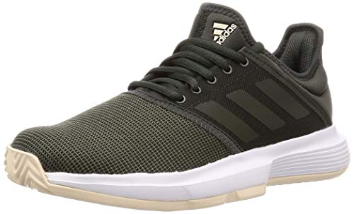 Adidas GameCourt Zapatillas de Tenis para Mujer, Color Legend Earth/Legend Earth/Linen, 6