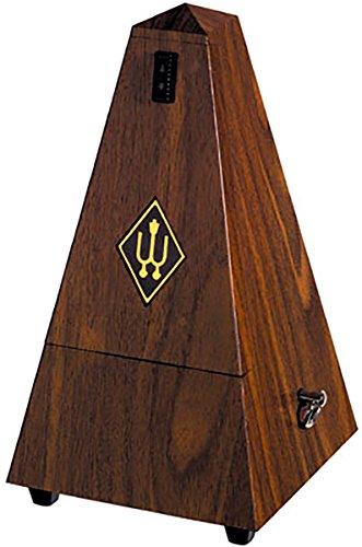 Wittner 903332 Metronomo Forma Piramidale Cassa Sintetico Colore Noce Granulato