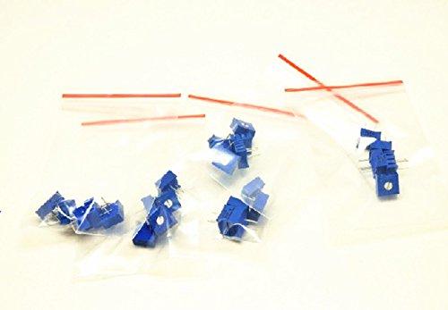 30pcs 3386P einstellbares Potentiometer Cermet Trimmer Pack 6 Werte