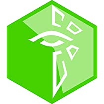 Ingress Enlightened Faction Repositionable Wall Decal Sticker Graphic-USA Seller-For fans of the Ingress role-playing game by Images and Words Graphics