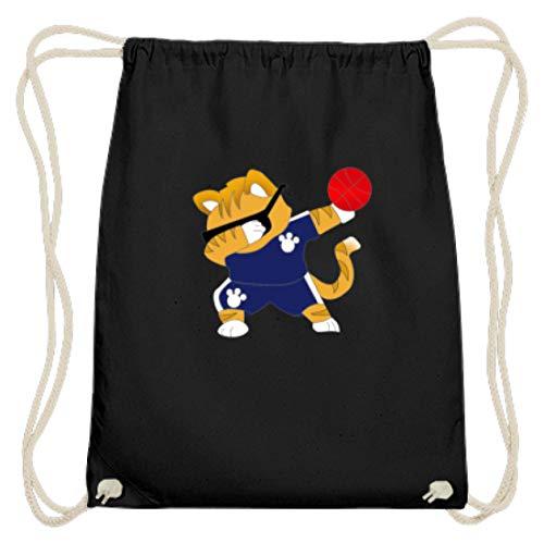 Dabbing Cat - Bolsa de gimnasio de algodón con diseño de gato...
