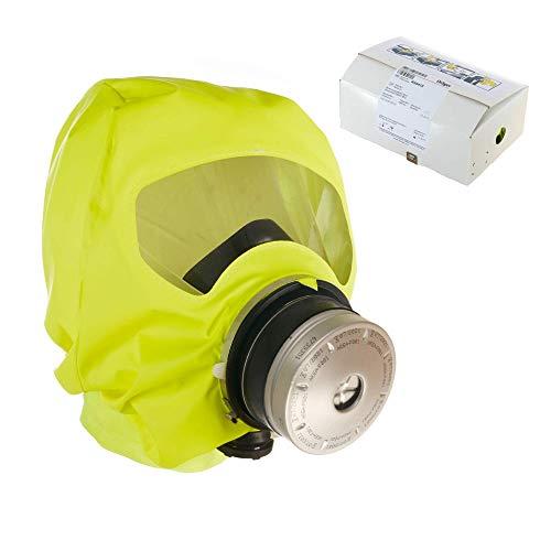 Dräger 5510 Parat Brand-Fluchthaube im Karton | Effektive Rettungshaube zum Schutz vor Brandgasen, Kohlenmonoxid (CO)
