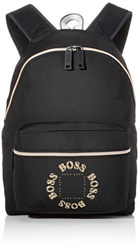 BOSS Herren Pixel Tl_backpack Rucksack, Schwarz (Black), 46x43x30 cm