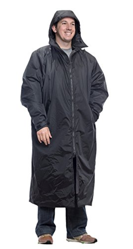 Mambe Extreme Weather 100% Waterproof Cascade Full Length Jacket Made in The USA Black