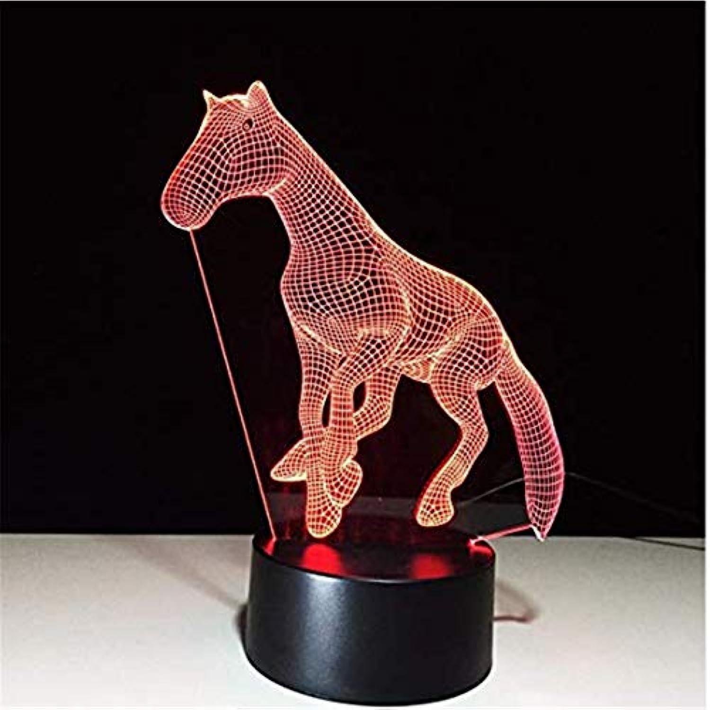 LED-Licht für Tier Tier Nachtlicht   3D-Nachtlicht für die Dekoration des Kopfteils Geschenke des Kindes