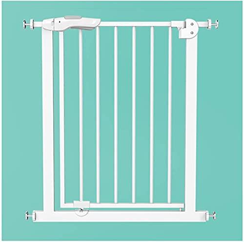 WUFENG Puerta de Seguridad para Puertas, Escalera de barandilla Barrera de Barrera Cerca de Aislamiento, protección Extra Ancha Protección para niños Perro doméstico, Anti-caída, sin perforación
