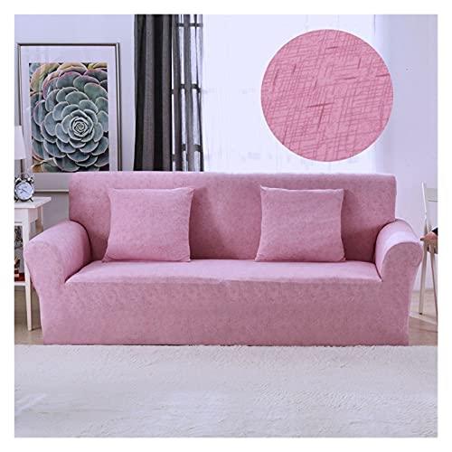 Rowe Linea Stampa Geometrica Elastico Sofa Cover Spandex Moderna Poliestere d'angolo del sofà Fodera for Soggiorno 1/2/3/4 posti (Color : Model 6, 规格 : 2 Seat (145 185cm))