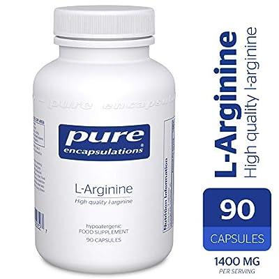 Pure Encapsulations - l-Arginine - Hypoallergenic Supplement Containing High Quality l-Arginine - 90 Capsules