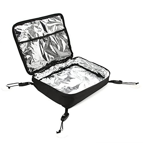Bolsa de cubierta para tabla de paddle, 600d Oxford Cloth Surf Deck Bag Forro interior Aislamiento térmico Negro para actividades acuáticas