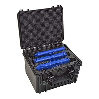 3 Pistol Doro Waterproof Triple Gun Case with Custom Mycasebuilder Foam Insert