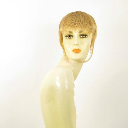 frange à clip cheveux blond clair doré ref: 20 en lg26