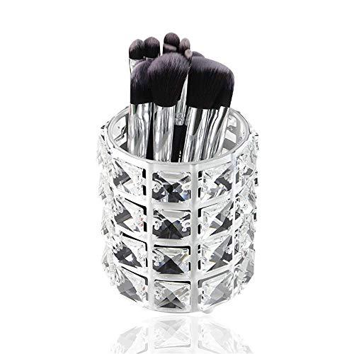 Hermoso Caja de almacenamiento Cepillo de maquillaje Cepillo de almacenamiento Cubierta Cubierta Cubierta de almacenamiento Caja de almacenamiento Pantalla Soporte (Color: Claro, Tamaño: Un tamaño)