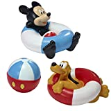 The First Years Disney Baby Bathtime Squirt Toys, Mickey Mouse