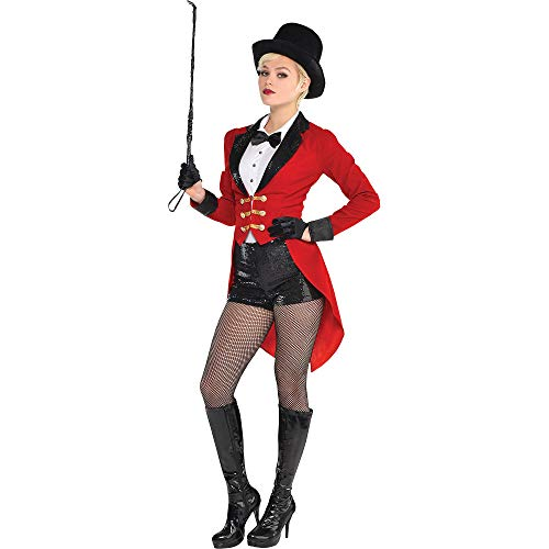 Amscan Women's Petite Ringmaster, Red, Small