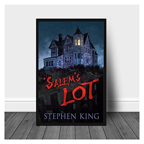 CBYLDDD Lote de Salem Stephen King Masterpiece Horror Libro Cover Poster 20x28 Sin Marco
