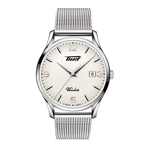 Tissot Reloj Analógico para Hombre de Cuarzo con Correa en Acero Inoxidable T1184101127700
