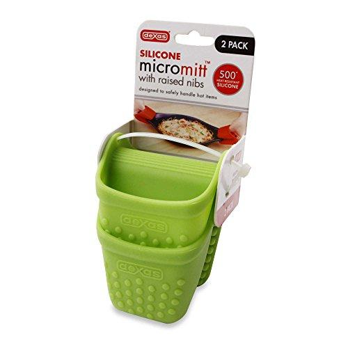 Dexas Silicone Micromitt 2-Pack