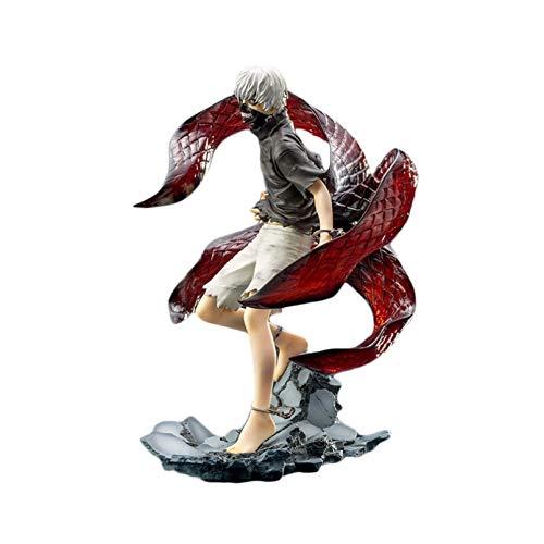 HUIQI Anime Figure Giocattoli ,Tokyo Ghoul ARTFX J Modello Anime Kaneki Ken Action Figure Statue PVC 23cm Collection Toy