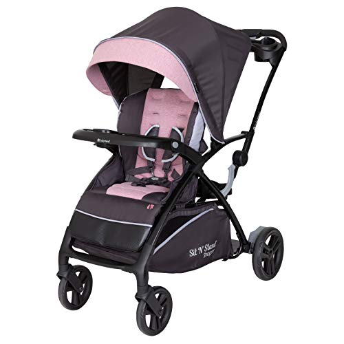 Baby Trend Sit N Stand 5-in-1 Shopper Stroller - Cassis
