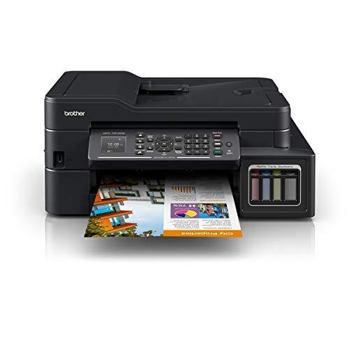 Brother Multifuncional MFC-T910DW Impresión Duplex con conexión Wi-Fi y Sistema de Tinta Continua de…