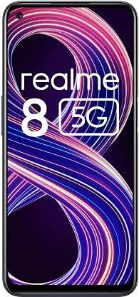 realme 8 5G (4 GB RAM, 64GB ROM) (Supersonic Black)
