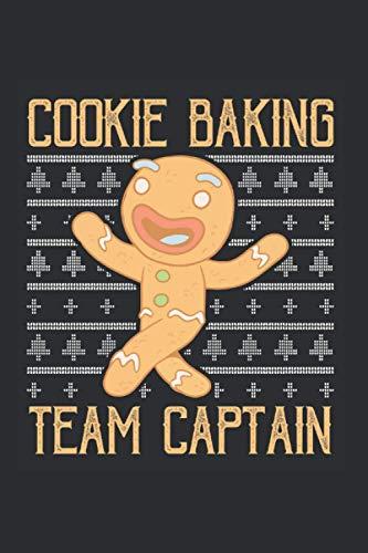 Cookie Keks Bäcker Notizbuch: Cookie Baking Team Plätzchen Weihnachtsplätzchen Kekse / 6x9 Zoll / 120 linierte Seiten