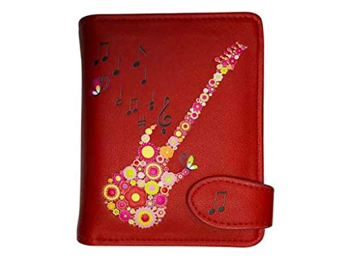 bb-Klostermann Geldbörse, versch. Designs 51168 (Gitarre,rot)