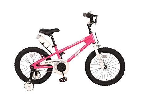 JOEY Hopper 18 inch Kid's Bicycle, Fuchsia, Children's Bike
