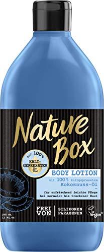 Nature Box Body Lotion Kokosnuss-Öl, 3er Pack (3 x 385 ml)