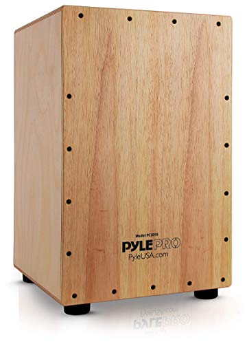 Pyle Wooden Hand Drum Percussion...