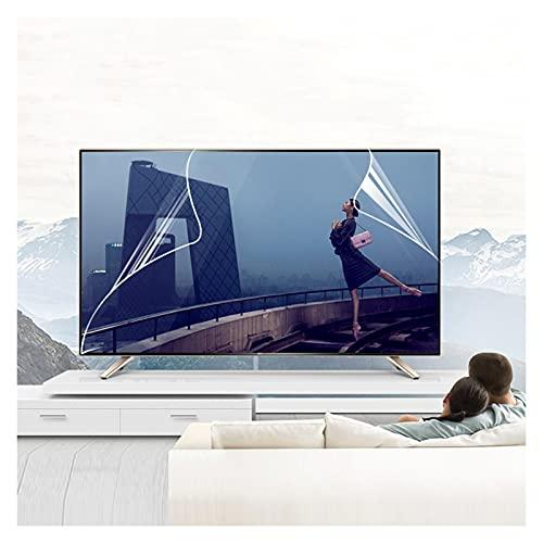 ALGWXQ Película Antideslumbrante para TV Filtra La Luz Azul, Elimina La Presión Ocular Adecuado para LCD, LED, 4K OLED Y QLED Y Pantalla Curva, 29 Tamaños