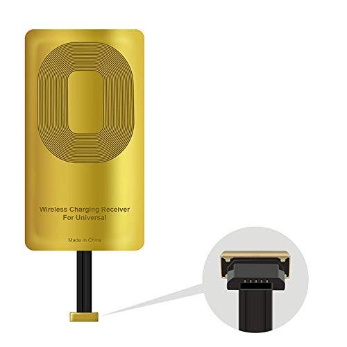 YX&SH Qi Receiver Mobile Phone Wirless Charging Reciever Accessories for Blu Vivo X - Blu Vivo XL3 - Alcatel One Touch- HTC ONE M8- HTC ONE M9- HTC ONE A9- HTC One E9- E9 Plus etc.
