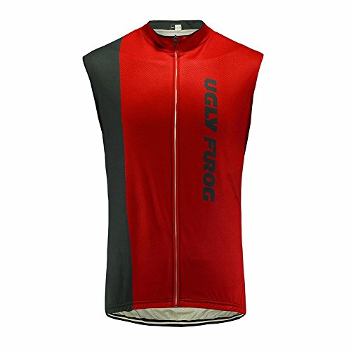 Uglyfrog 2017 Sleeveless Magliette Uomo Ciclismo Mountain Bike Cycling Jersey Top Abbigliamento Ciclismo Estate Style