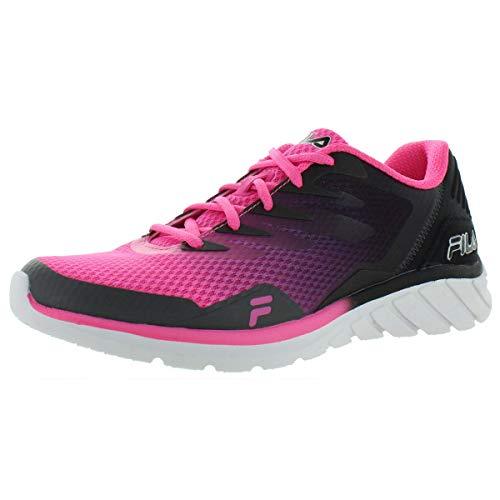 Fila Women's Memory Countdown 9 Running Shoes (Sugar Plum/Castlerock/Black, Numeric_9)