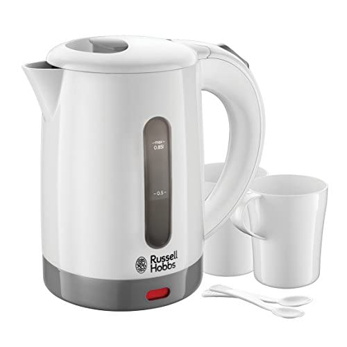 Russell Hobbs 23840-70 Bollitore, 1000 W, 2 Tazze, Plastica, Bianco