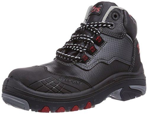 MTS Unisex-Erwachsene M-Gecko Falcon S3 Flex ÜK 41175 Sicherheitsschuhe, Schwarz (schwarz), 43