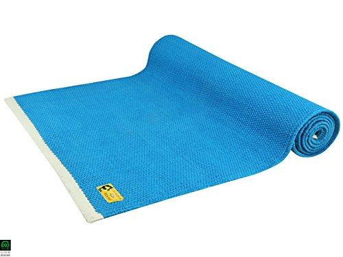 Tapis de yoga en coton bio