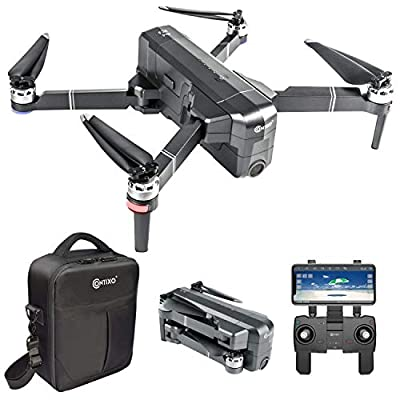 Contixo F24 Foldable Drone| FHD Gimbal Camera FPV Live Video for Adults, GPS RC Quadcopter with Brushless Motor, 5G WiFi, RTH, 30 Minute Flight Time, Selfie for Beginners w/Backpack