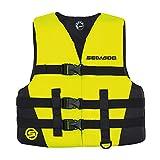 Sea-Doo Sándsea - Flotador infantil, color amarillo de alta visibilidad, Giallo ad Alta Visibilità, L (30-40KG)