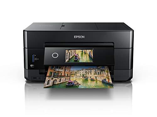 Epson Expression Premium XP-7100 Print/Scan/Copy Wi-Fi Printer, Black, Amazon Dash Replenishment Ready