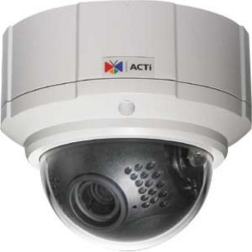 ACTI TCM-7811 H.264/MPEG-4/MJPEG, Megapixel, IR, D/N, CCD, PoE/DC 12V, Vandal Proof/IP66, Rugged Dome with f3-9 mm / F1.2 lens, 15 fps at 1280 x 960,