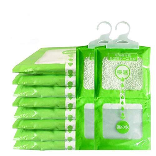 DRLYQWJF 5/10 Paquetes De Armario Colgante Higroscópico Desecante A Prueba De Humedad Bolsa Colgante para Deshumidificación De Baño De Cocina (100g,10 Packs)