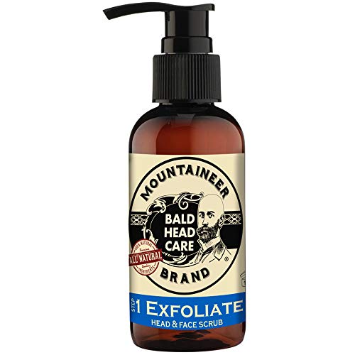 Mountaineer Brand Bald Head Care - Exfoliate - Men's All Natural Head and...