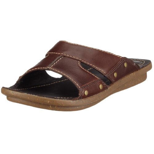 Clarks Powder Box Ebony Leather 203400704070, Damen Clogs & Pantoletten, braun, (Ebony Leather ebony), EU 41 (UK 7 )