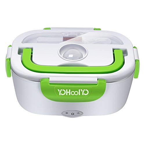 YOHOOLYO Electric Lunch Box Food Heater Portable Lunch Heater 110V Home Use Only with Removable Stainless Steel Container Food Grade Material