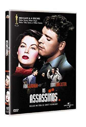 Dvd Os Assassinos - Burt Lancaster