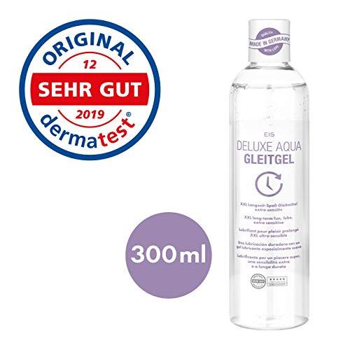 EIS, Deluxe Aqua Gleitgel, wasserbasierte Langzeitwirkung, extra sensitiv, 300 ml