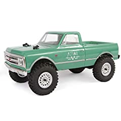 100% assembled and ready to run the compact SCX24 1/24 scale radio control off-road RC truck with water-resistant electronics is perfect for outdoor or indoor RC adventure Features scale details like working LED lights and officially licensed Method ...